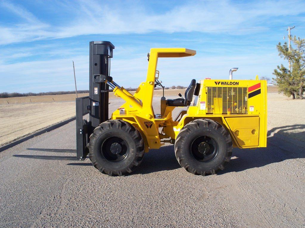 Waldon 8500 heavy duty forklift