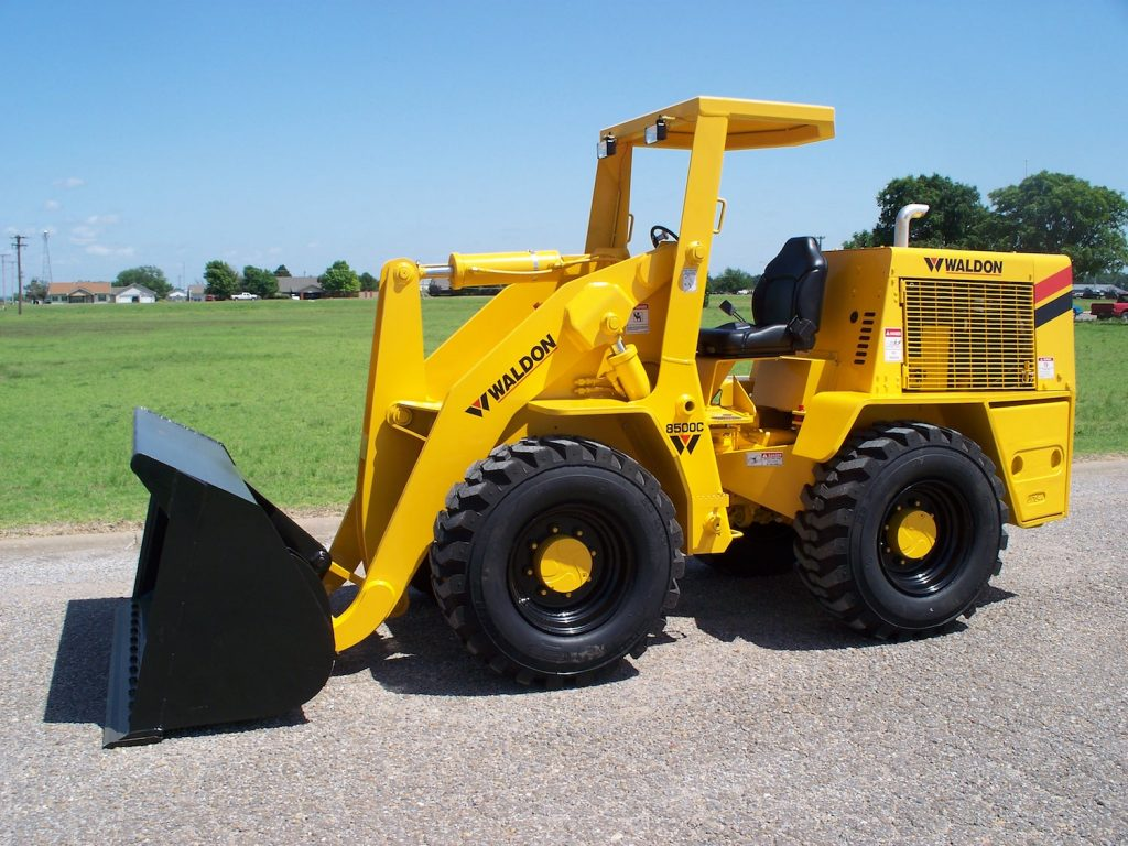 Waldon 8500C heavy duty loader